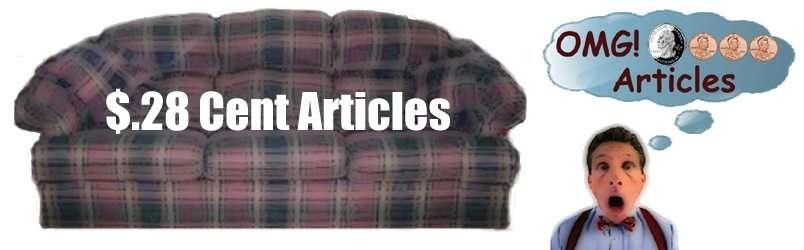 28 Cent Articles Header