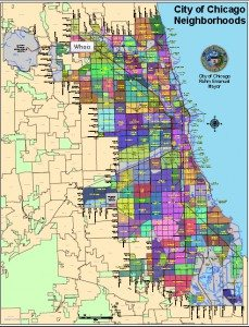 Chicago business neighborhoods