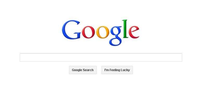 Google Website Screenshot