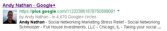 Andy Nathan Google Plus Snippet