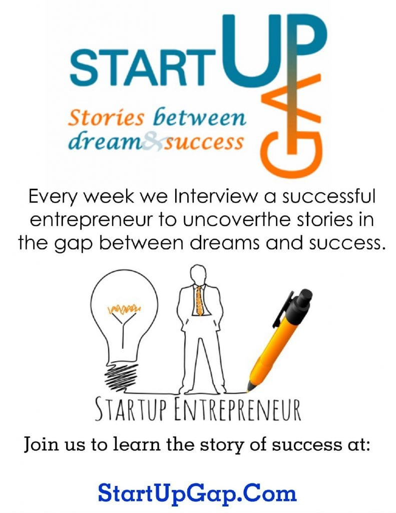 start up gap flyer