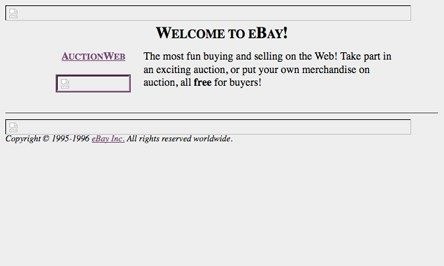 first ebay website
