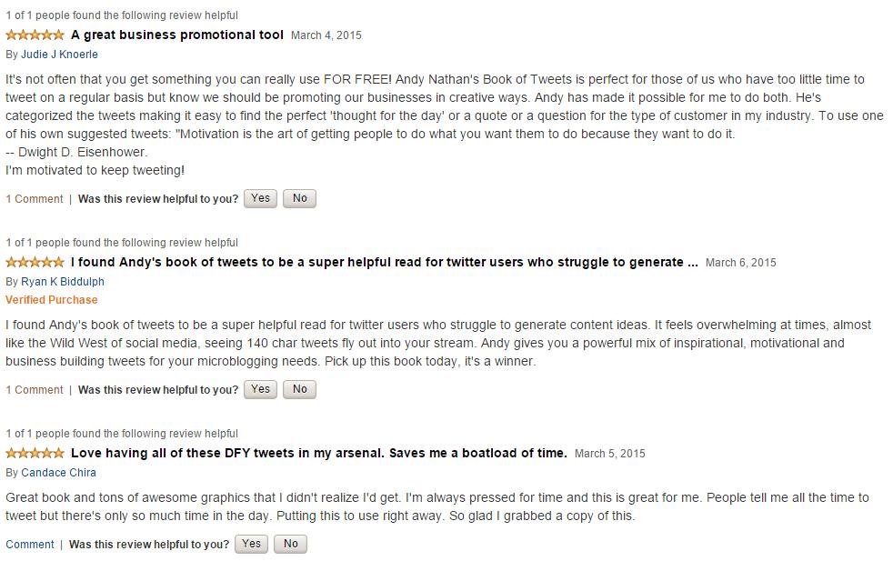 book of tweets amazon reviews