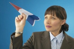 prospective client is like airplane throwing