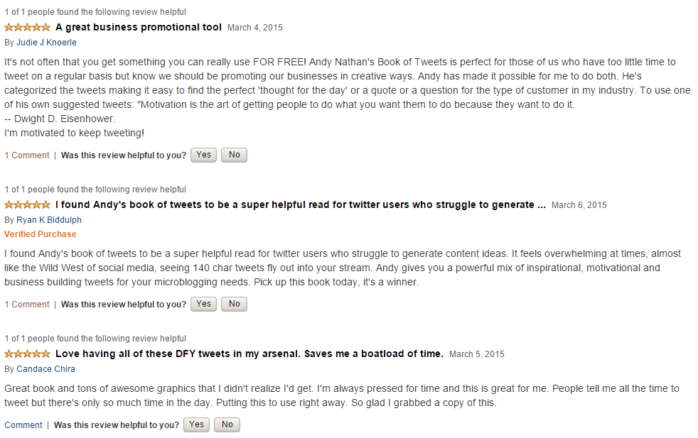book of tweets amazon reviews