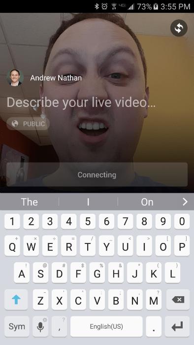 Facebook Live Video Information