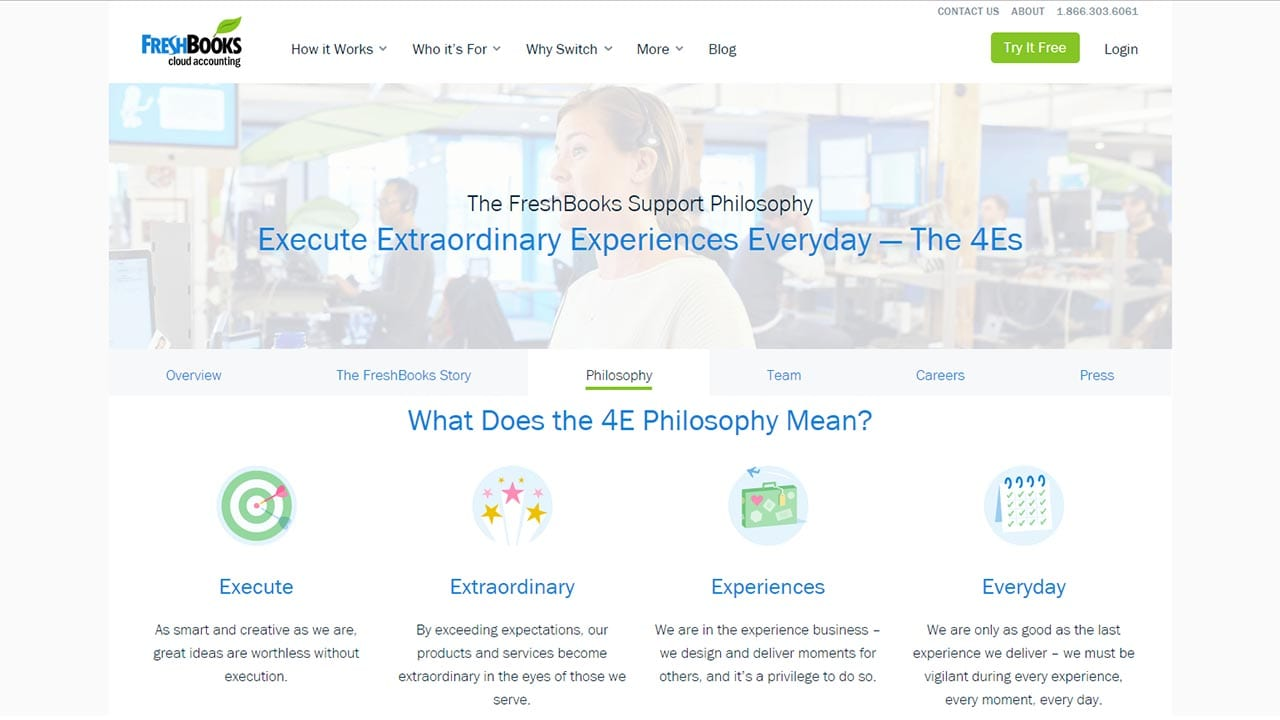 Freshbook 4E Philosophy