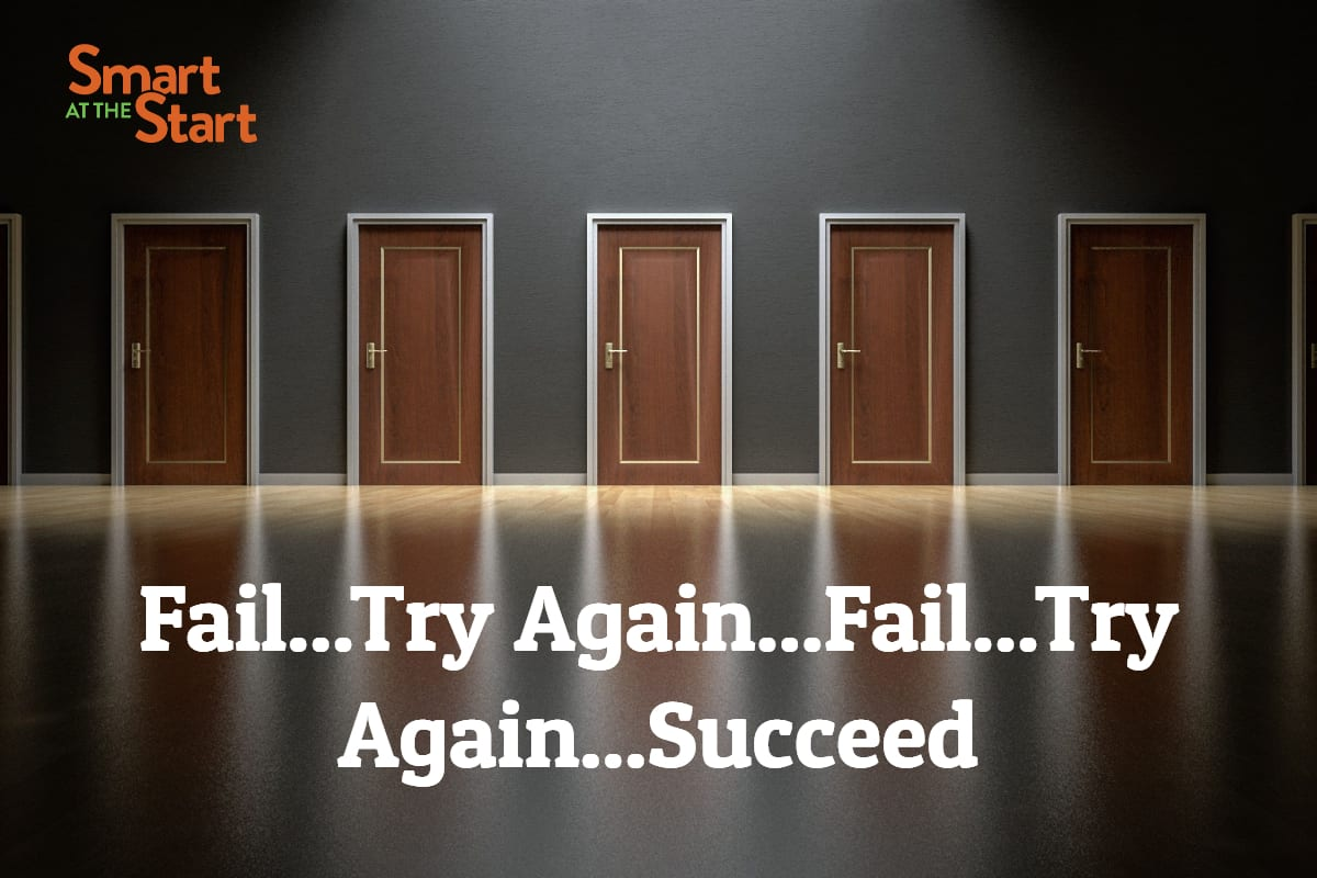 fail...try again...succeed