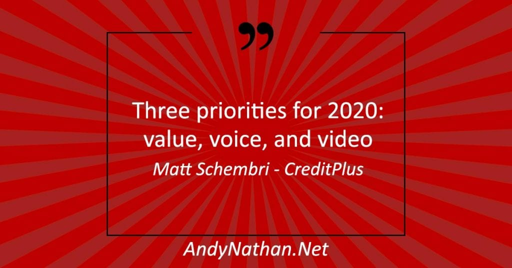 2020 Three Content Marketing Strategies