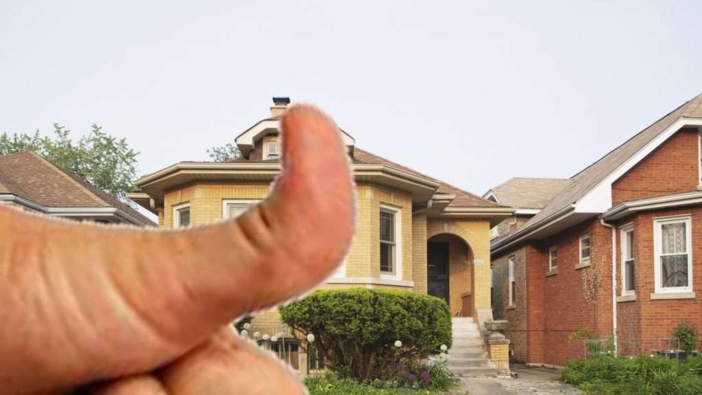 thumb blocking house